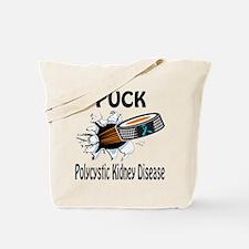 Puck Polycystic Kidney Disease Tote Bag