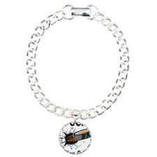 Puck Ovarian Cancer Charm Bracelet, One Charm