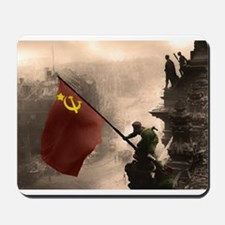 Russian Flag over the Reichstag in Color Mousepad