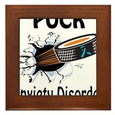 Puck Anxiety Disorder Framed Tile