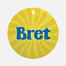 Bret Sunburst Ornament (Round)