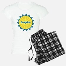 Brayden Sunburst Pajamas
