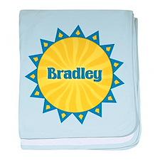 Bradley Sunburst baby blanket