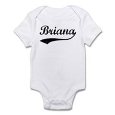Vintage: Briana Infant Bodysuit