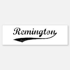 Vintage: Remington Bumper Bumper Bumper Sticker