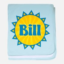 Bill Sunburst baby blanket