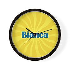 Bianca Sunburst Wall Clock