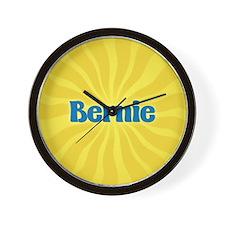Bernie Sunburst Wall Clock