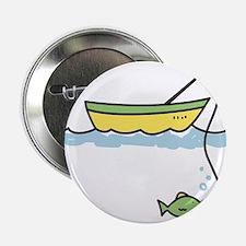 "Fishing Boat 2.25"" Button"