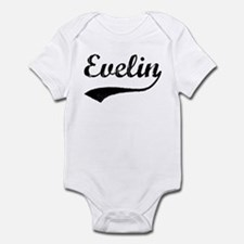 Vintage: Evelin Infant Bodysuit