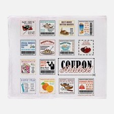 COUPON ADDICT! Throw Blanket