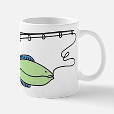 Fish On A Rod Mug