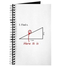 Find x Math Problem Journal