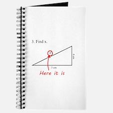 Find x Math Problem Journal