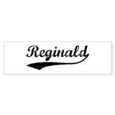 Vintage: Reginald Bumper Bumper Sticker