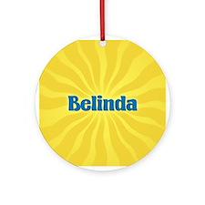 Belinda Sunburst Ornament (Round)