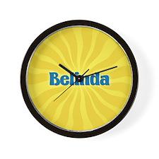 Belinda Sunburst Wall Clock