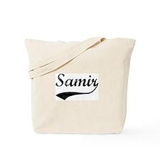 Vintage: Samir Tote Bag