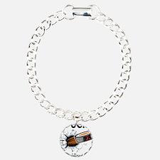 Puck Congenital Heart Defects Charm Bracelet, One