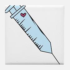 Syringe Tile Coaster