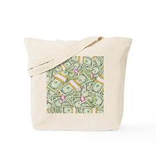 Money Pillow Tote Bag
