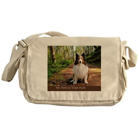 My Path is Your Path Messenger Bag