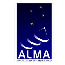 ALMA Postcards (Package of 8)