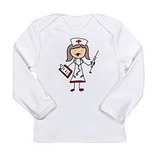 Nurse Long Sleeve Infant T-Shirt