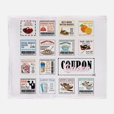 COUPON QUEEN Throw Blanket