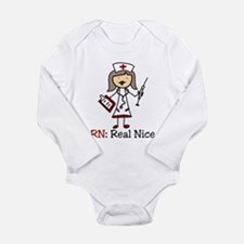 Real Nice Long Sleeve Infant Bodysuit