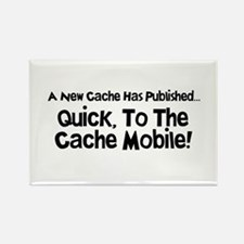 Cache Mobile Rectangle Magnet (10 pack)