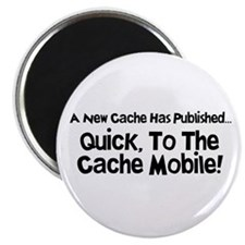 """Cache Mobile 2.25"""" Magnet (100 pack)"""