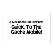Cache Mobile Postcards (Package of 8)