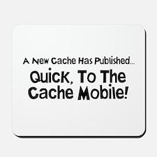 Cache Mobile Mousepad