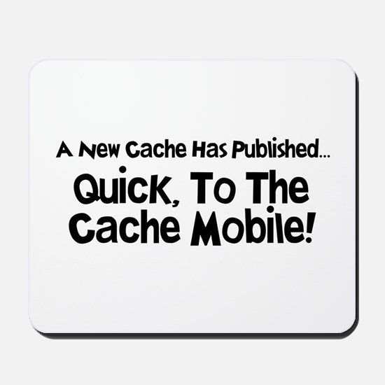 Cache Mobile Mousepad