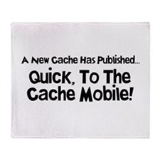 Cache Mobile Throw Blanket