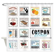 COUPON DIVA! Shower Curtain