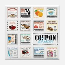 COUPON DIVA! Tile Coaster