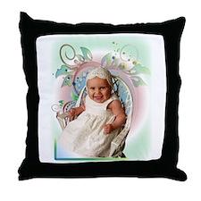 Alyssa Floral Throw Pillow