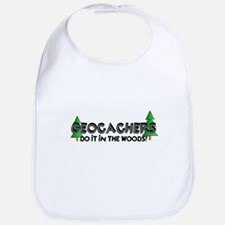 Geocachers Do It In The Woods Bib