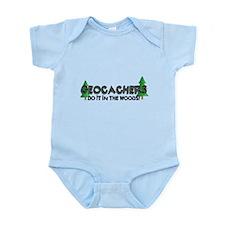 Geocachers Do It In The Woods Infant Bodysuit