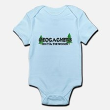 Geocachers Do It In The Woods Infant Bodysuit