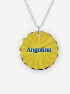 Angelina Sunburst Necklace