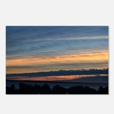 Columbia River Sunset Postcards (Package of 8)