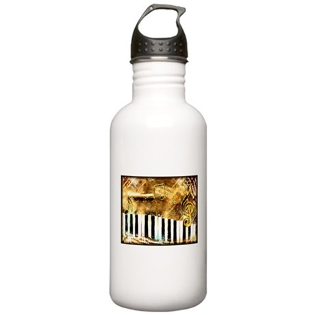 Musical Grunge Stainless Water Bottle 1.0L