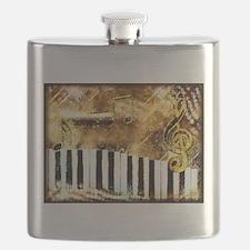 Musical Grunge Flask