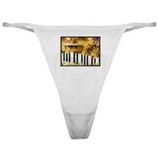 Musical Grunge Classic Thong