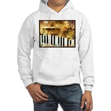 Musical Grunge Hoodie