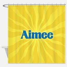 Aimee Sunburst Shower Curtain