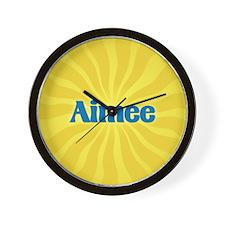 Aimee Sunburst Wall Clock